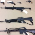 An example of some of the weapons that have been handed over to the Vancouver Police.