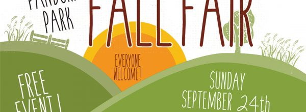 Join us at the Pandora Park Fall Fair