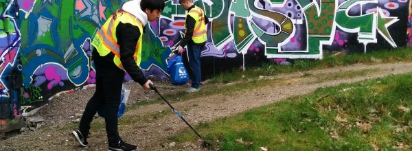 Join us for our Community Clean-Up program on Saturdays!