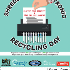 Document Shredding & Electronic Recycling Day on May 4th, 2019