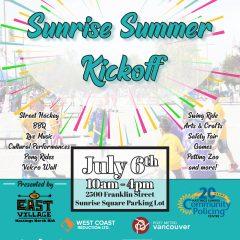 Sunrise Summer Kickoff 2019