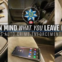 April is Auto Crime Enforcement Month